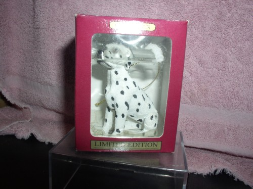 Dalmatian dog Limited Edition ornament Mint original Box