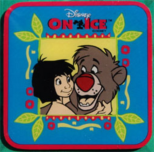 Walt Disney on ice Baloo and Mowgli Pinpins