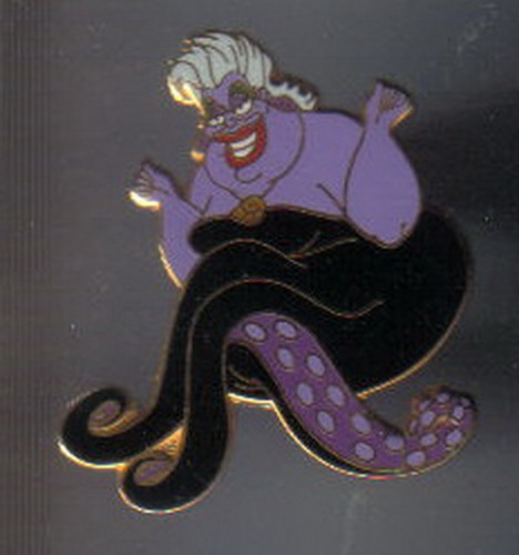 Disney Ursula the sea Witch from The Little Mermaid Villain pinpins