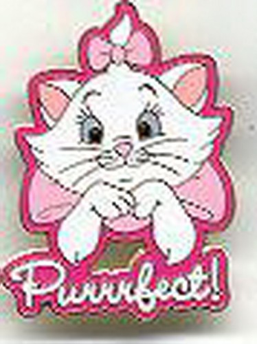 Aristocats - Marie - Purrrfect authentic Disney pinpins