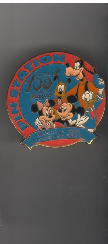 Goofy Donald Pluto first 100 Years of Magic authentic Japan Disney pinpins