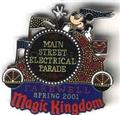 WDW Main Street Electrical Parade Authentic Disney PinPins