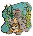 Cleo fish Auctions P.I.N.S. Authentic Disney Pinocchio Pin On Card