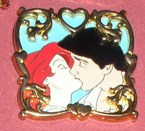 Ariel and Eric The Kiss Disney Limited Edition 750 Little Mermaid Pin No card