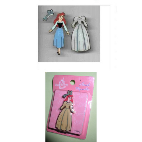 Ariel Princess magnet Authentic Disney Little Mermaid LE Pin on card