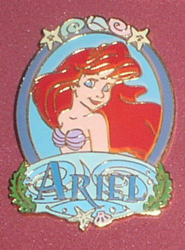 Ariel Princess Portrait Authentic DL Disney Little Mermaid Pin No card