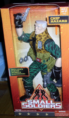 Chip Hazard Small Soldiers 12 Commando Mint In Box