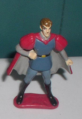 Prince Phillip Standing from Disney Sleeping Beauty PVC Figurine cake topper