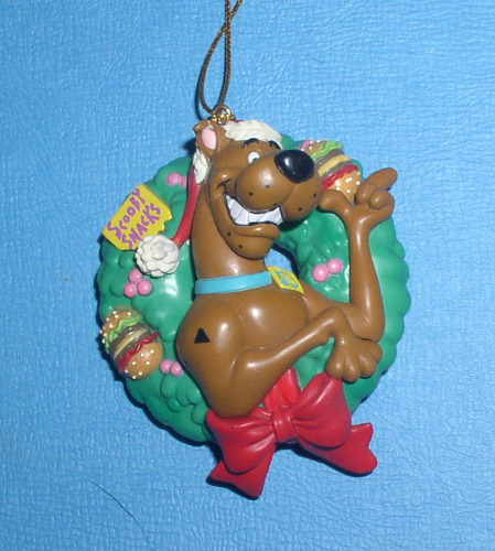 Scooby-Doo in a Holiday in a Christmas reef ornament