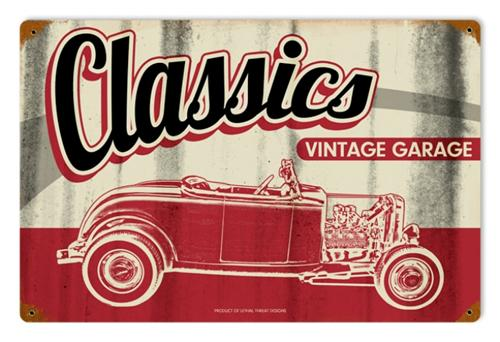 LETH097 Classics Vintage Garage Tin Metal Sign