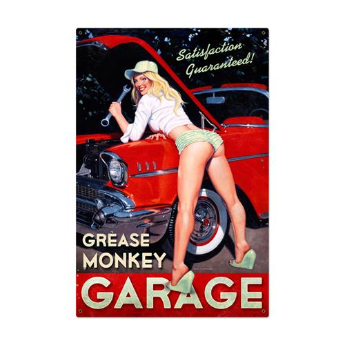 Grease Monkey Garage Pin Up Girl Tin Metal Sign Make Your Own Beautiful  HD Wallpapers, Images Over 1000+ [ralydesign.ml]