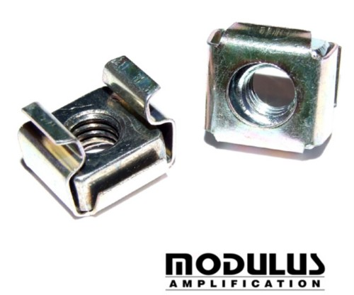 CAGED NUT - M5 Zinc Plated - 4 PER PACK