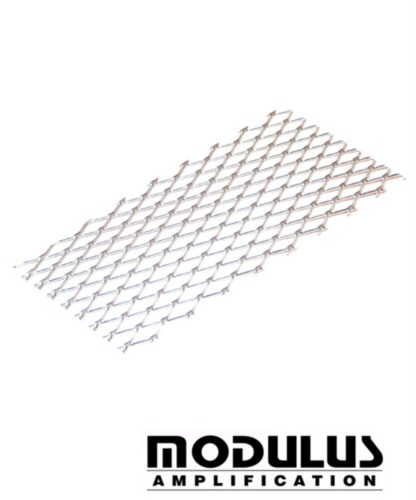 AMP VENT MESH-GRID - SILVER