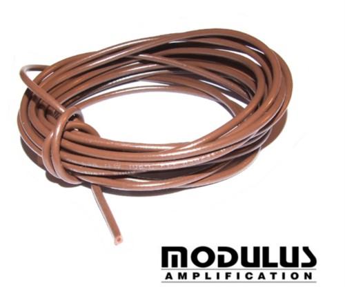 CABLE WIRE-600V BROWN 22awg-11Amp-10 METRES