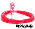 Cable wire-1000v-red-solid core-1.5amp - 3 metres