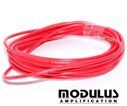 CABLE WIRE-600V RED 22awg-11Amp-10 METRES