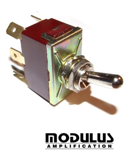 TOGGLE SWITCH - ON/ON DPDT
