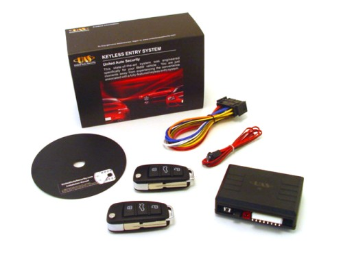 PLUG-IN KEYLESS ENTRY FOR BMW E36 3-SERIES & M3 - 2 FLIP KEY REMOTES - BMWRSX2