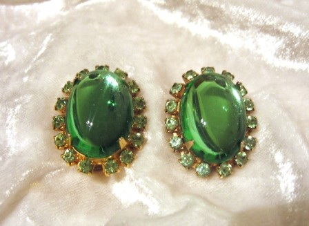 Lg green earrings.JPG 11/4/2010