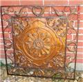 French Tuscan Stamped Wall Plaque