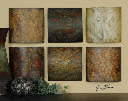 Klum Collage Wall Art, Set of 6 Panels - HomeboundDecor.com