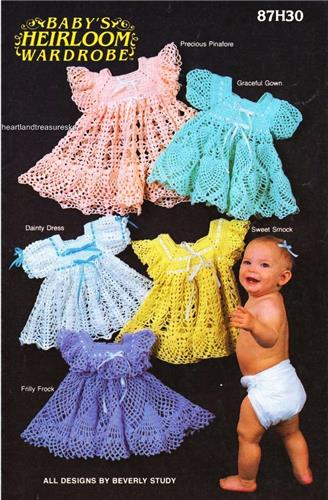 Baby Heirlooms Wardrobe  Annie's Attic Crochet Pattern Booklet