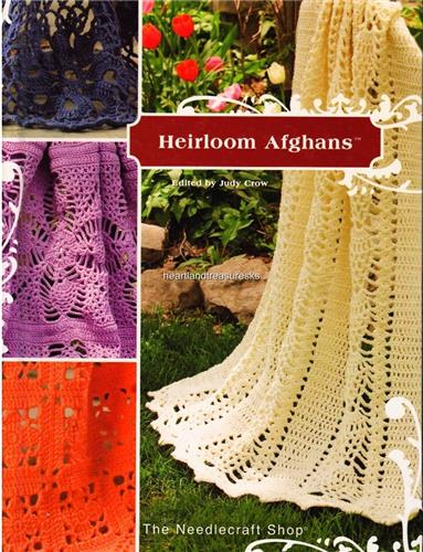 Heirloom Afghans   Crochet Afghan Pattern Book