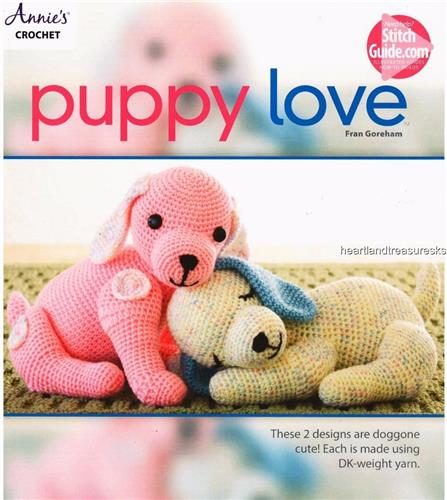 Puppy Love   Annie's Attic Crochet Pattern Leaflet