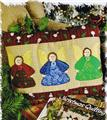 Angel Trio   Pillow Appliqued Quilt Pattern Leaflet w/ Flexible Templates