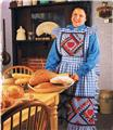 Autumn Apron   Quilted Pattern Leaflet w/ Flexible Applique Template