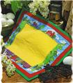 Bordered Place Mat  Creative Scrap Quilt Pattern Leaflet