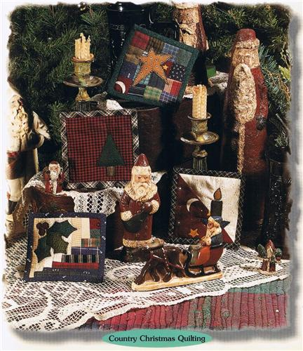 Christmas Coasters Set Creative Scrap  Quilted Pattern Leaflet w/  Templates