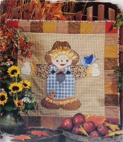 Happy Scrappy Scarecrow Creative Scrap Quilt Pattern