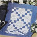 Bluework Embroidered  Wall Quilt Pattern Leaflet