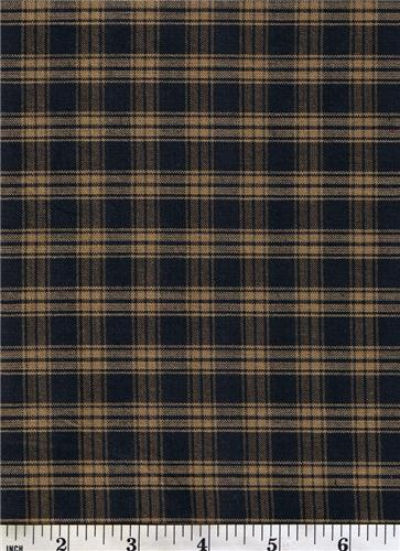 Dunroven House H 21 Primitive Style Homespun Large Navy