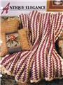 Antique Elegance Annie's Attic Crochet Afghan Pattern Instructions