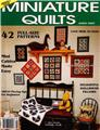 Miniature Quilt Magazine Premier Issue 1991