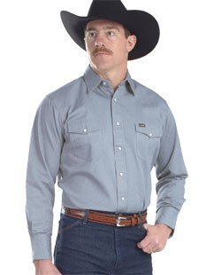53467d08d2 Wrangler Men s Authentic Cowboy Cut Polyester Cotton Western Work Shirts.  137298.jpg. Other products by Wrangler