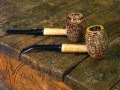 COUNTRY GENTLEMAN (Stained) Missouri Meerschaum Corn Cob Pipe from Aristocob