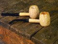 Aristocob Missouri Meerschaum Corn Cob Pipe Tobacco Smoking Diplomat