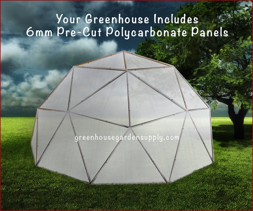 24 Geodesic Greenhouse 450 Square Feet: Greenhouse Geodesic Dome