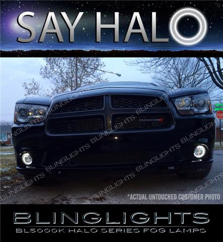 2011-2014 Dodge Charger Halo Fog Lamp Driving Light Kit