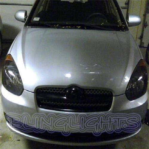 Dodge Attitude Tinted Smoked Protection Overlays Film for Headlamps Headlights Head Lamps Lights
