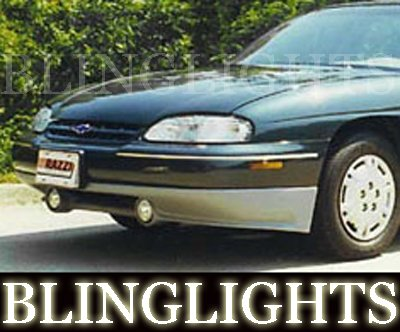 1997 1998 1999 Chevy Lumina Razzi Body Kit Angel Eyes Fog Lamps Halos Driving Lights Chevrolet