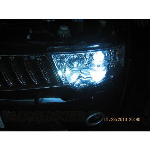 mitsubishi challenger bright white light bulbs for headlamps headlights head lamps lights
