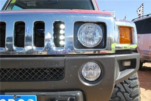 PIAA LED DRL Daytime Running Lamp Kit for Hummer H1 H2 H3