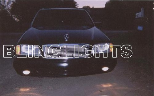 1998 1999 2000 Mercedes-Benz C180 Xenon Fog Lights Driving Lamps Foglamps Lamp Kit C 180 w202