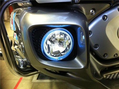 2012-2017 Honda Goldwing GL1800 Halo Fog Lamp Angel Eye Lights