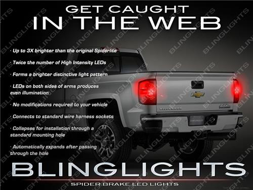 GMC Sierra Custom LED Taillamp Spider Light Bulbs 1500 2500 3500 HD