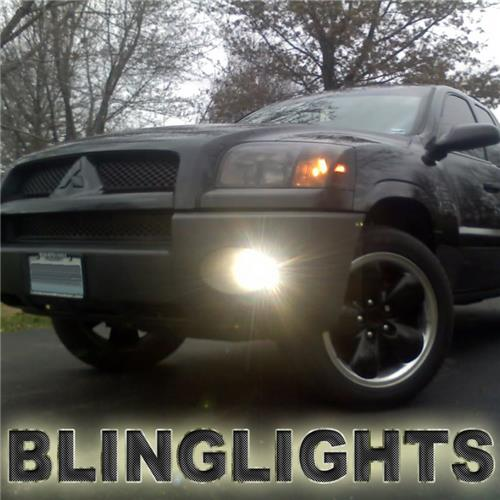 2006 2007 2008 2009 Mitsubishi Raider Halo Fog Lamps Angel Eye Light Kit
